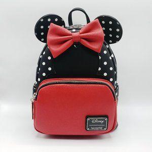 Loungefly x Disney Minnie Mouse Polka Dot Backpack